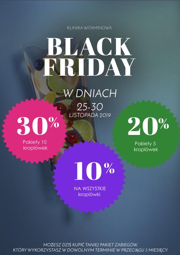 Black Friday – promocja -30%
